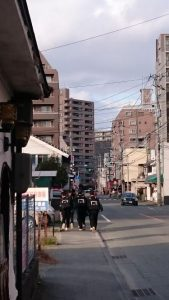 往生院バス停付近の写真
