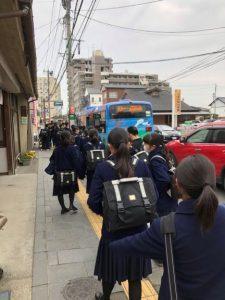 京町本丁バス停 交通センター行の1枚目の写真