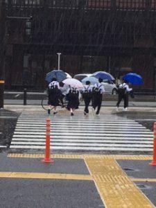 上熊本駅前の写真